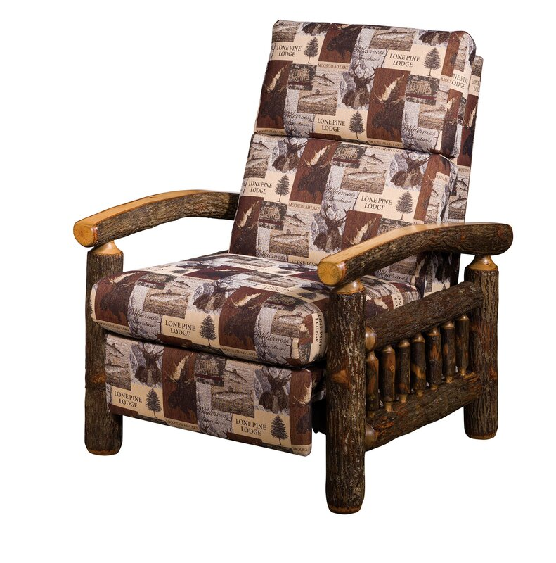 Great Buy Quintero Hickory Manual Recliner By Loon Peak
