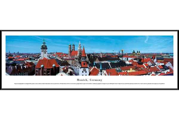 Munich, Germany-Series 2 by James Blakeway Framed Photographic Print by Blakeway Worldwide Panoramas, Inc