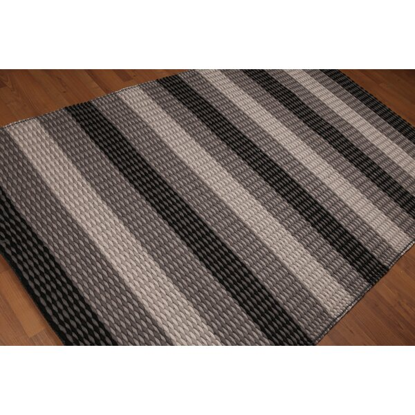 One-of-a-Kind Ballaghmore Plus Pile Hand-Woven Gray Area Rug by Gracie Oaks