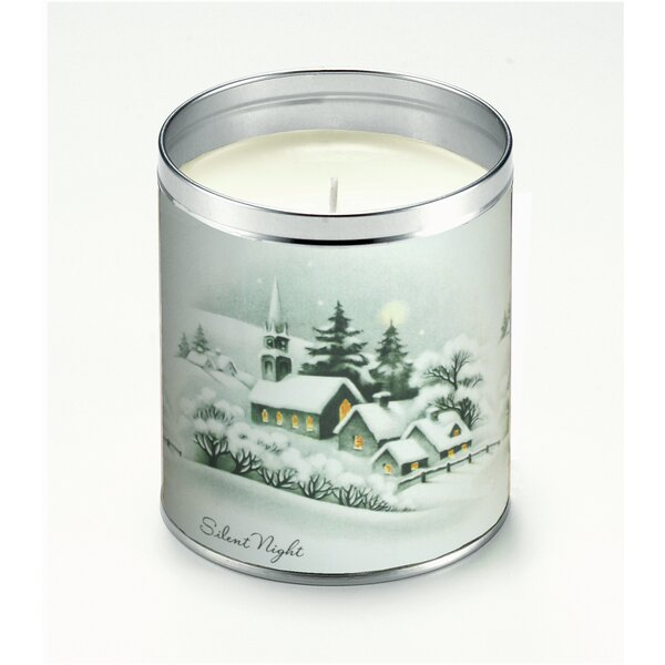 Snowy Silent Night Scented Jar Candle by The Holiday Aisle