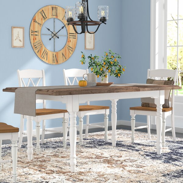 Fallston Extendable Dining Table by Gracie Oaks