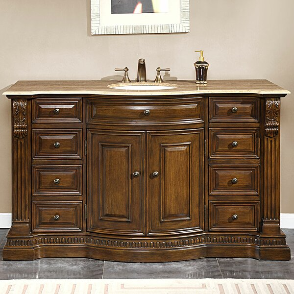 Pimentel 60 Single Bathroom Vanity Set by Astoria