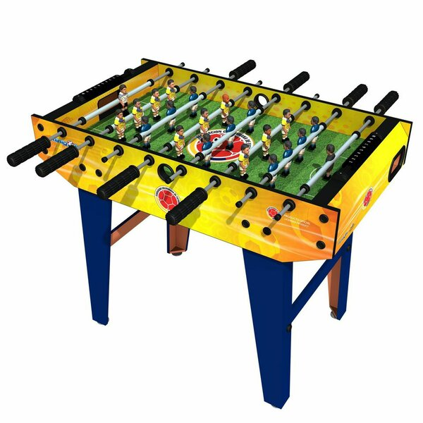 Colombia Foosball Table by Minigoals