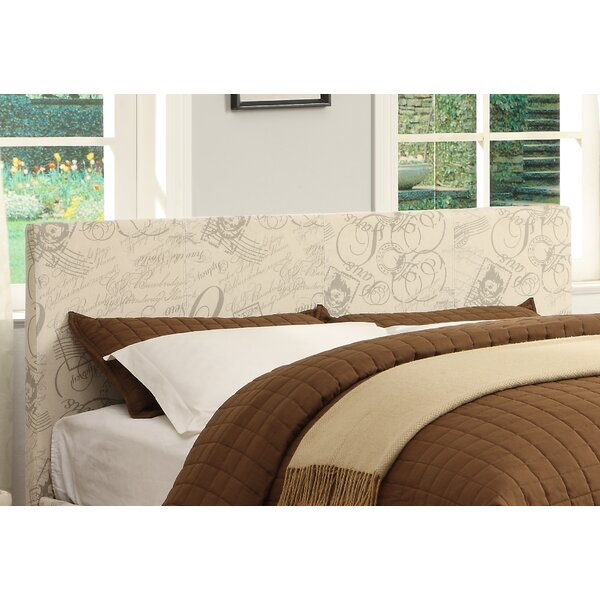 Kirts Upholstered Standard Bed by Wrought Studio
