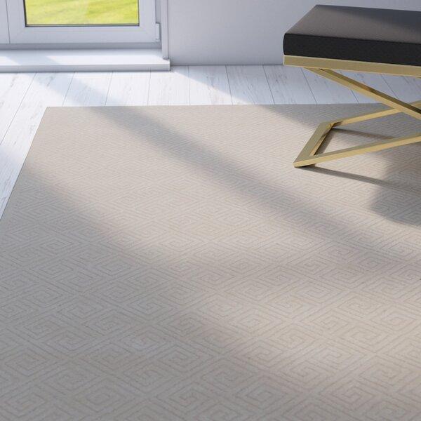 Blondelle Geometric Ivory Area Rug by Willa Arlo Interiors