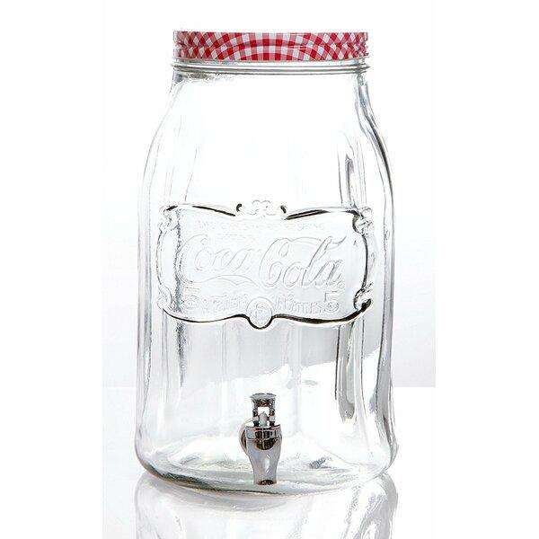 Hawkins Coca Cola 256 oz. Beverage Dispenser by August Grove
