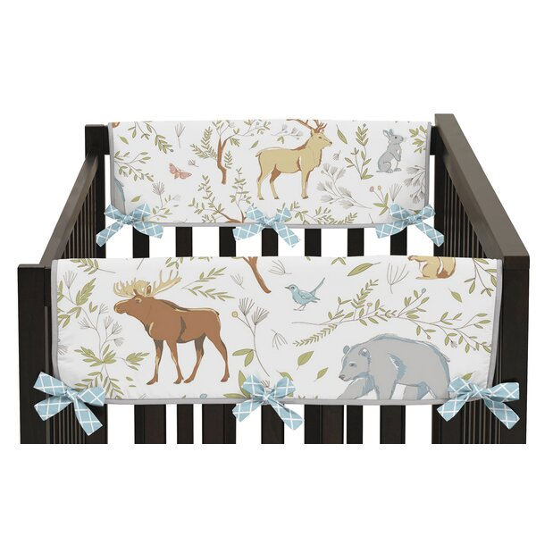 Woodland Toile Rail Guard Cover (Set of 2) by Sweet Jojo Designs