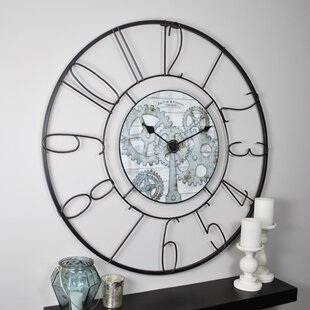 Find the perfect Oversized Fulshaw Gears 36 Wall Clock by FirsTime
