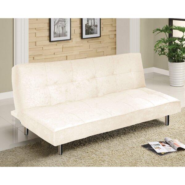 Urban Shop Microfiber Convertible Sofa by Idea Nuo
