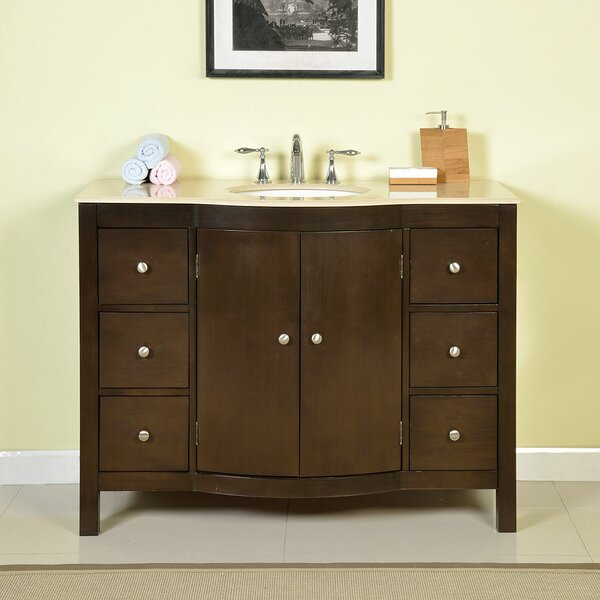 Bissette 48 Single Bathroom Vanity Set by Andover Mills