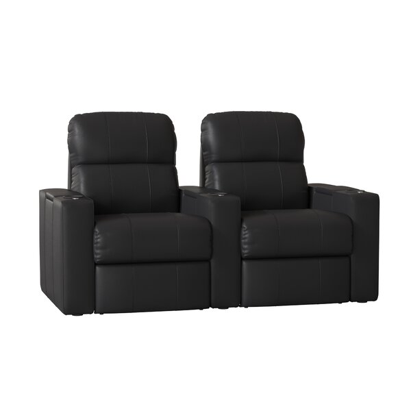 Home Theater Recliner (Row Of 2) By Red Barrel Studio