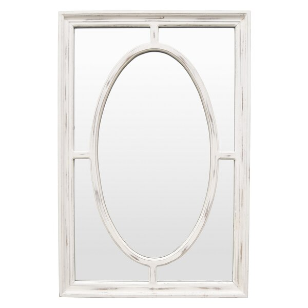 Ingle Wood Wall Accent Mirror by Winston Porter