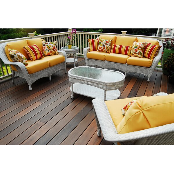 St Catherine Key West Loveseat with Cushion by Bay Isle Home