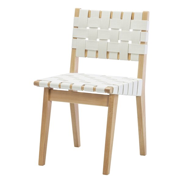Woven Upholstered Dining Chair by Design Tree Home
