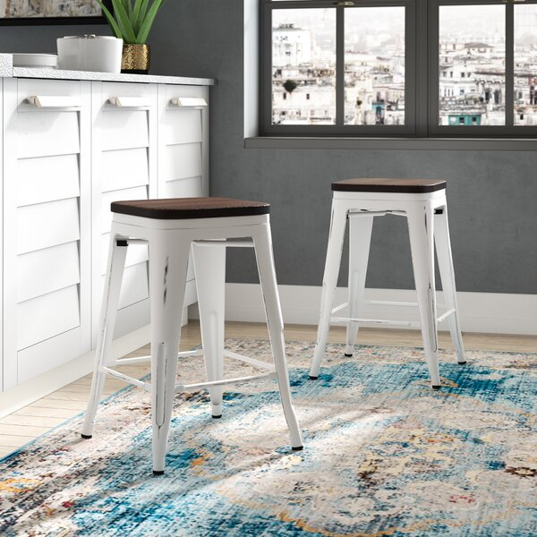 Claremont 24 Bar Stool (Set of 2) by Trent Austin