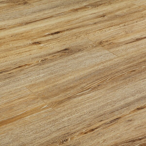 8 x 48 x 12mm Pine Laminate Flooring in Gainsbore by Yulf Design & Flooring