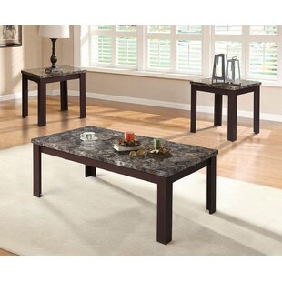 Buy luxury Kellen 3 Piece Coffee Table Set By Alcott Hill