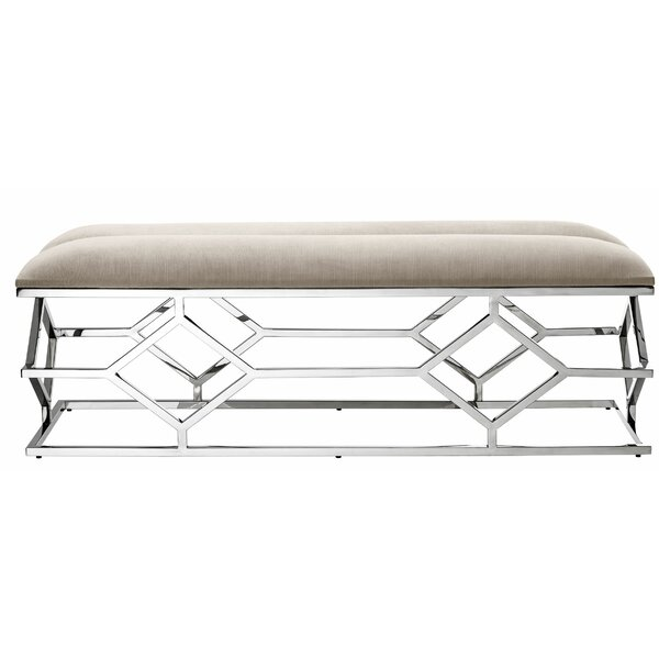 Trellis Metal Bench by Eichholtz