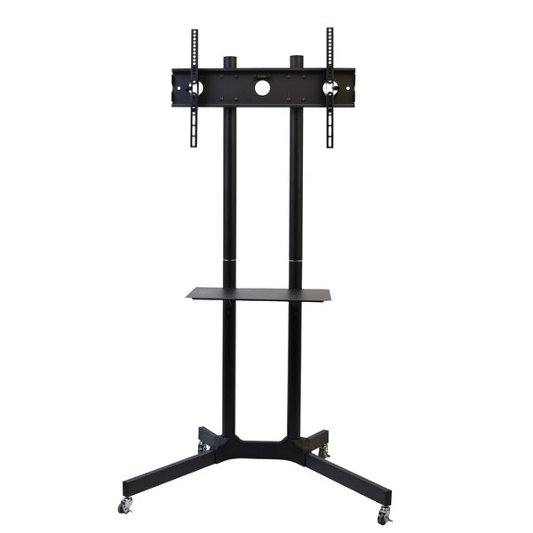 TV AV Cart for LCD LED Plasma Flat Panel Stand with Wheels Mobile by Vivo