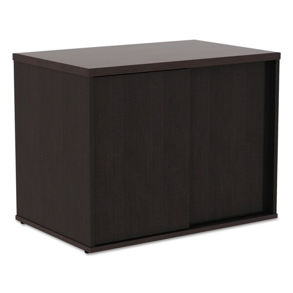 Tiernan Open Office Low Storage Cabinet Credenza Desk by Latitude Run