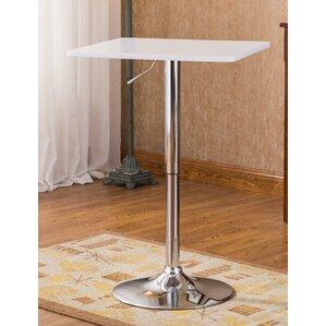 Baxton Adjustable Height Pub Table