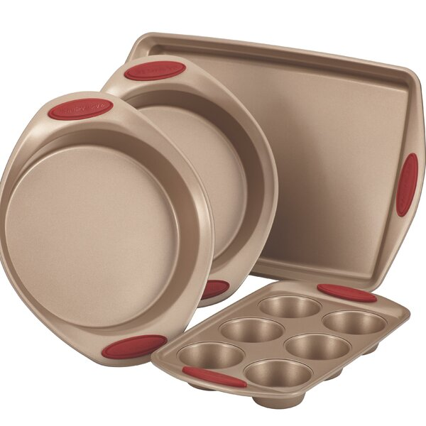 Cucina Nonstick 4 Piece Bakeware Set by Rachael Ray