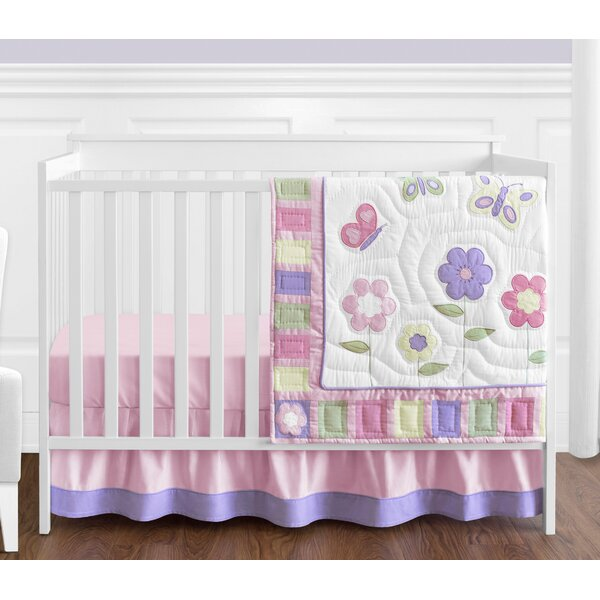Butterfly 4 Piece Crib Bedding Set by Sweet Jojo Designs