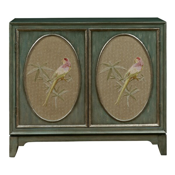 Callahan Fabric Panel Bar Cabinet by Bay Isle Home Bay Isle Home