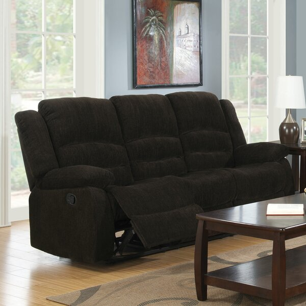 Stylish Worrall Traditional Reclining Sofa Get The Deal! 70% Off