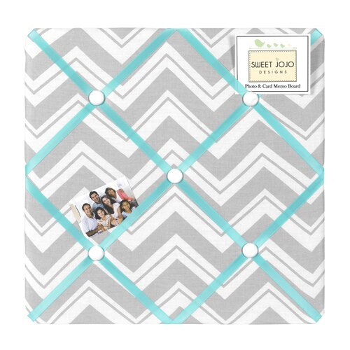 Zig Zag Photo Memory Board by Sweet Jojo Designs