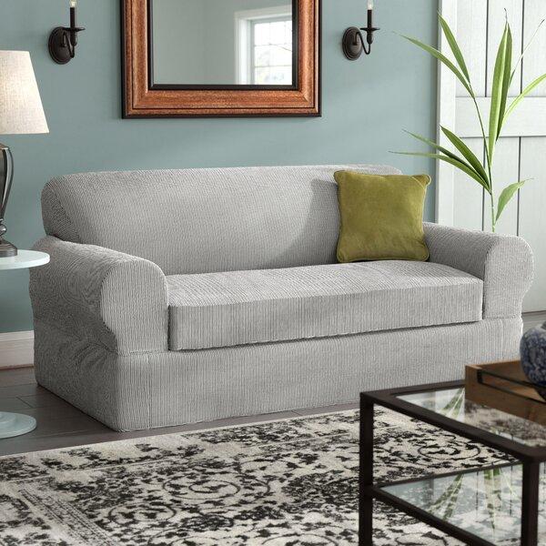 Shoping Box Cushion Sofa Slipcover