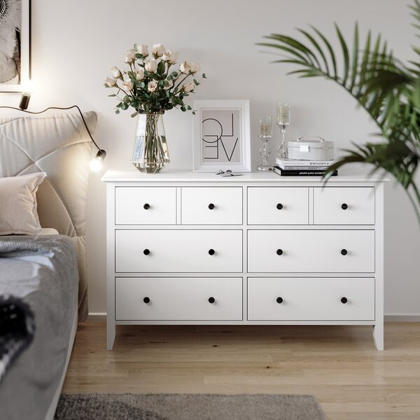 Almon 6 Drawer Double Dresser by Canora Grey