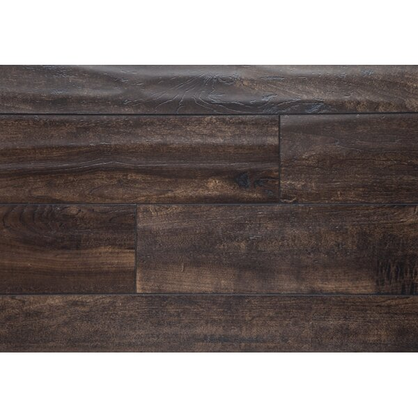 5 x 48 x 12mm Oak Laminate Flooring in Smoked Almond by Chic Rugz