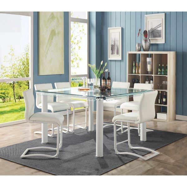 Nevia Counter Height Dining Table by Orren Ellis Orren Ellis