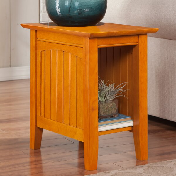 Orangetown End Table by Three Posts