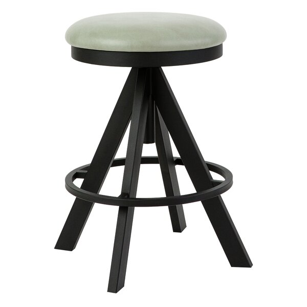 Derryberry Adjustable Height Swivel Bar Stool by Brayden Studio