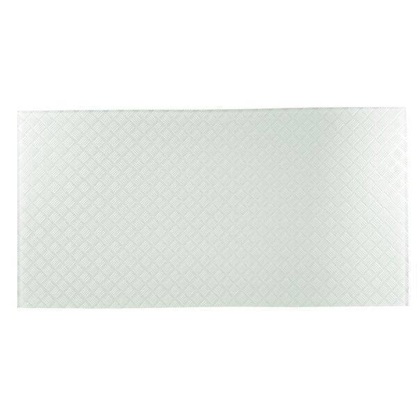 Elements Striped 12 x 24 Glass Field Tile in Light Mint by Abolos