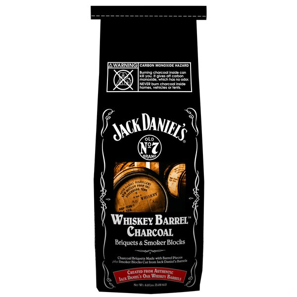Jack Daniels Charcoal Briquet Smoker by Blue Orange