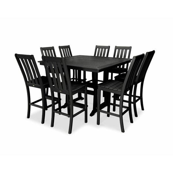 Vineyard Nautical Trestle 9 Piece Dining Set by POLYWOOD®