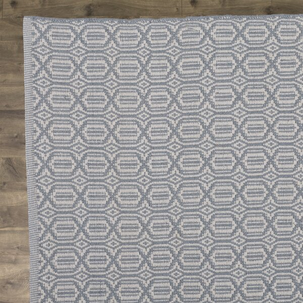 Oxbow Hand-Woven Beige/Blue Area Rug by Laurel Foundry Modern Farmhouse