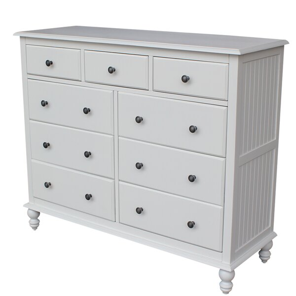 Best #1 Dania 9 Drawer Dresser By Rosecliff Heights Wonderful