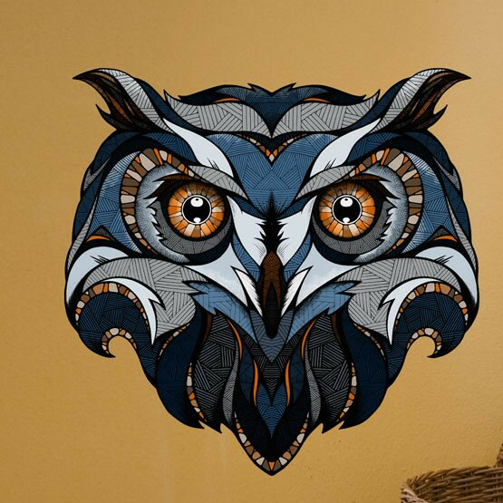 Owl Wall Decal by My Wonderful Walls