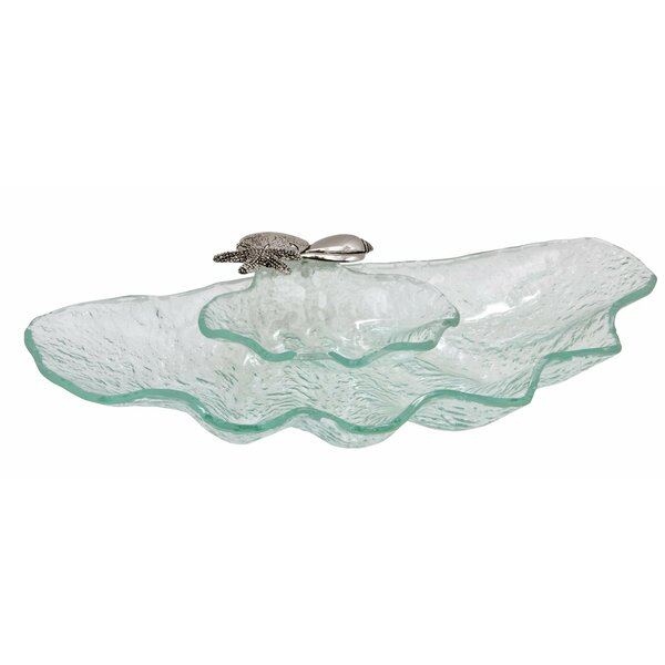 Clam Shell Chip & Dip Tray by Thirstystone