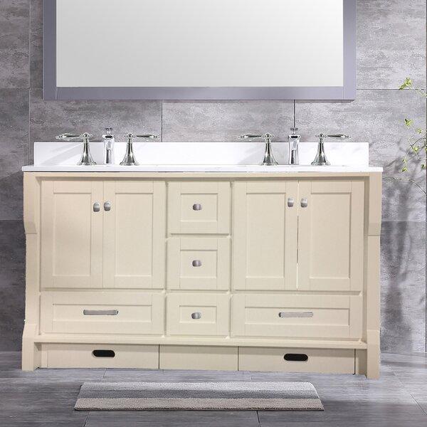 Swatzell 60 Double Bathroom Vanity Set by Winston Porter