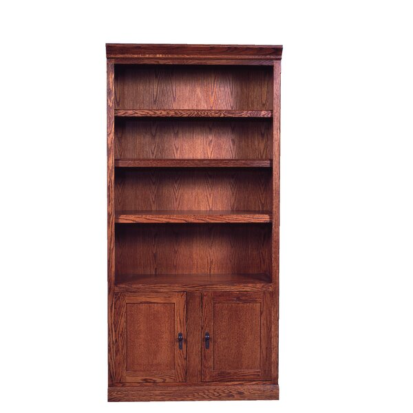 Torin Bookcase with Lower Doors Standard Bookcase by Millwood Pines