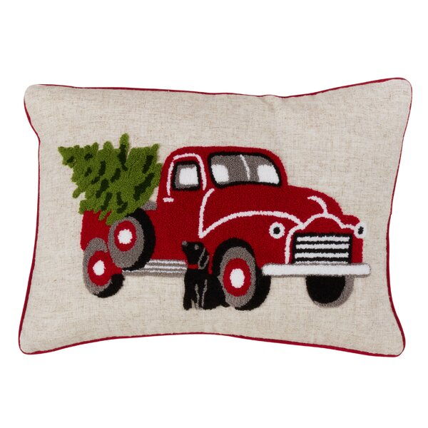 Quinlan Truck Design Lumbar Pillow by The Holiday Aisle