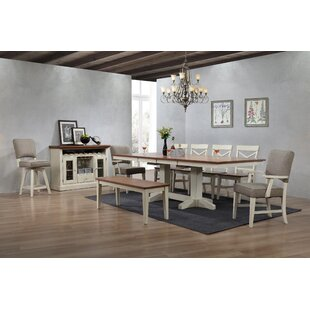 Online Reviews Yvonne 6 Piece Dining Set by Gracie Oaks