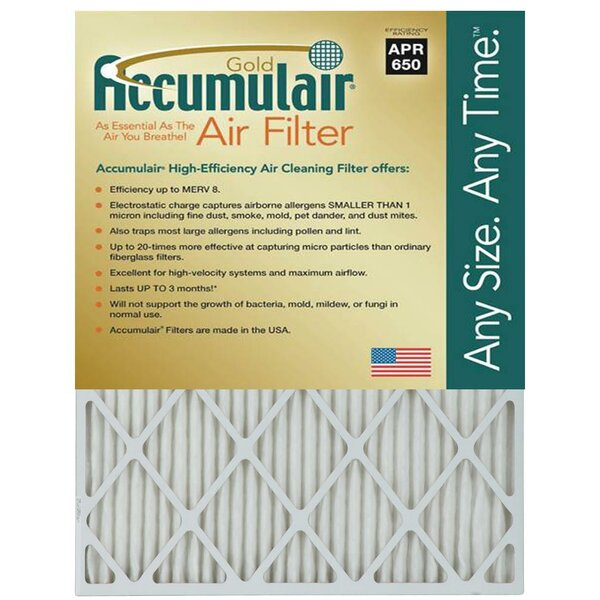 Air Filter (Set of 4) by Accumulair