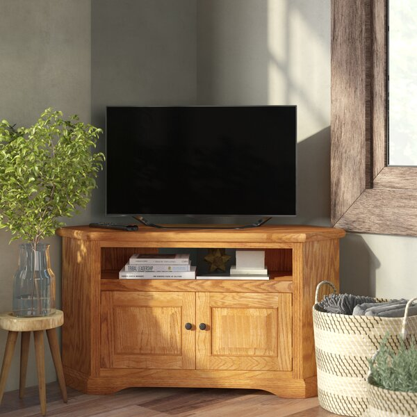 Glastonbury Solid Wood Corner Unit TV Stand For TVs Up To 55