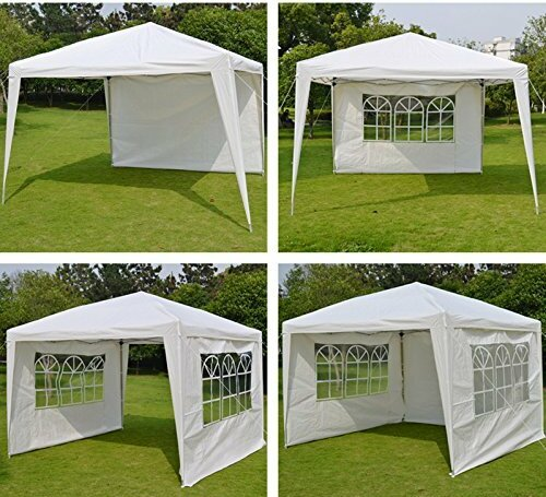 Wedding Folding 10 Ft. W x 10 Ft. D Steel Pop-Up Canopy by Sunrise Outdoor LTD